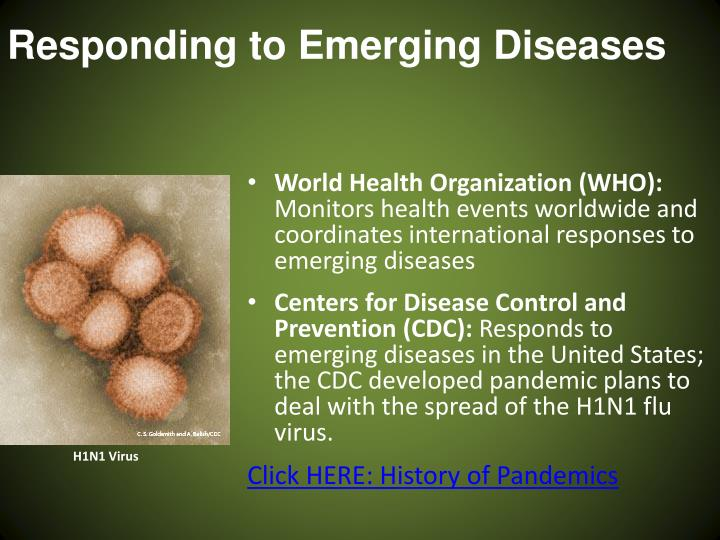 Responding to Emerging Diseases