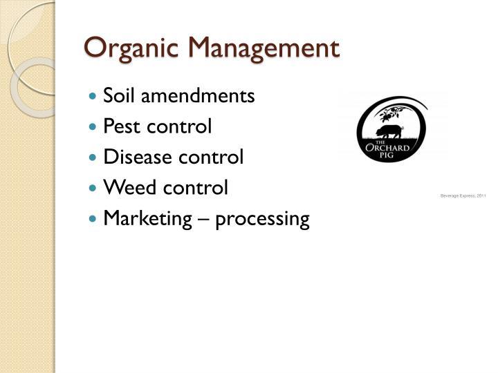 Organic Management