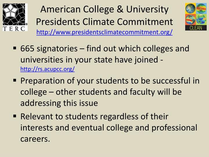 American College & University