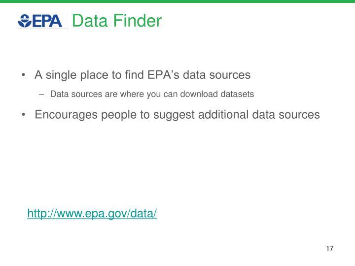 Data Finder
