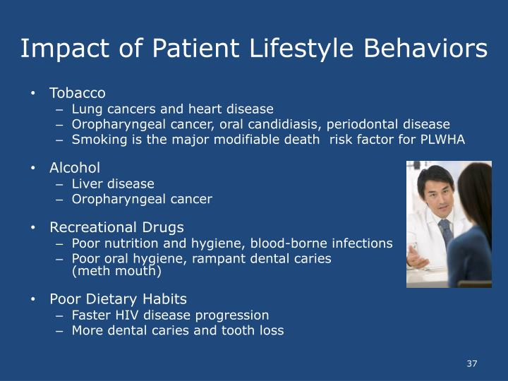 Impact of Patient Lifestyle