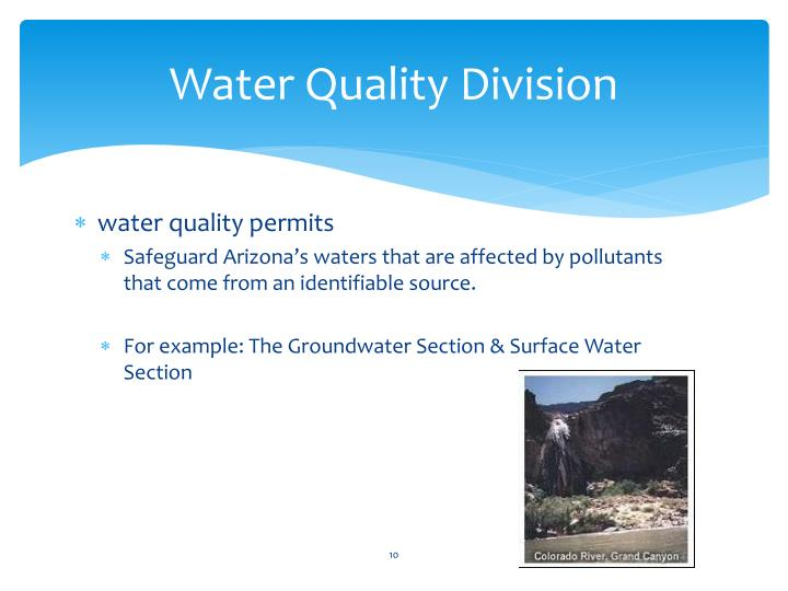 Water Quality Division