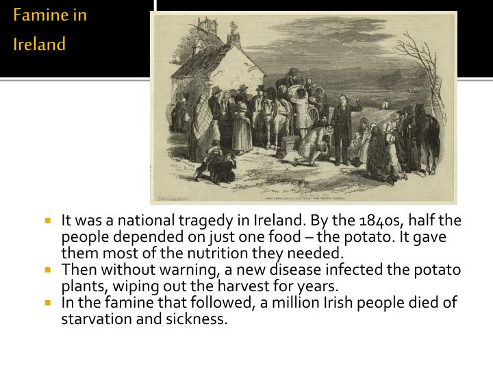 Famine in Ireland