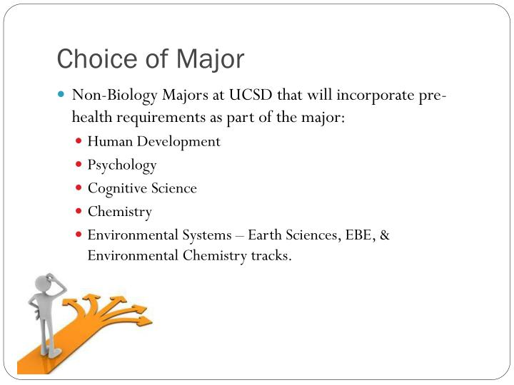 Choice of Major