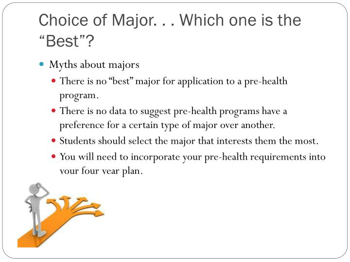 "Choice of Major. . . Which one is the ""Best""?"