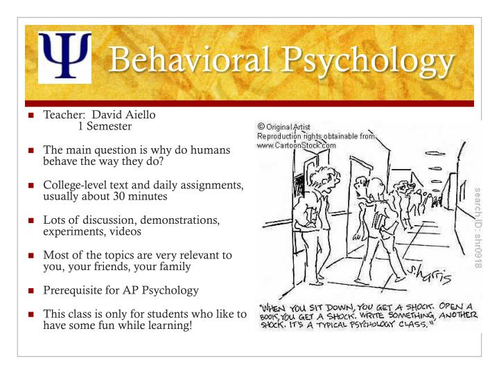 Behavioral Psychology