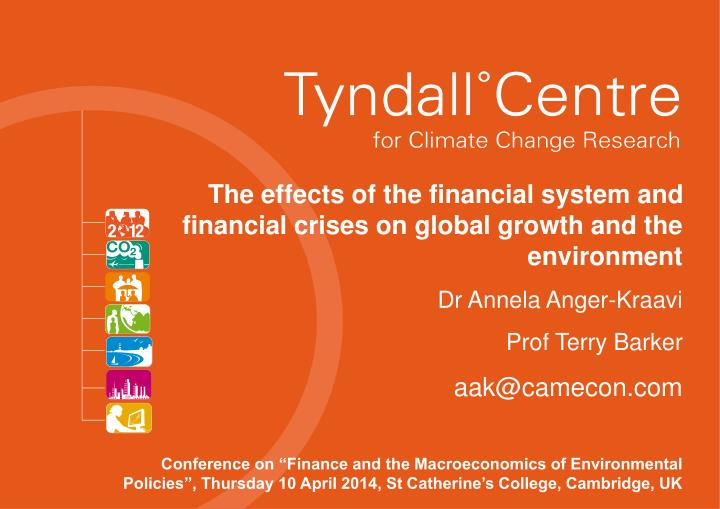 the effects of the global financial The contribution in the national economy, but the negative effects of the global financial crisis which broke out in the second half of 2008 and gripped on the global economy, has affected this sector and others sectors and the implications of the crisis began on the tourism sector to emerge since december 2008, where the.