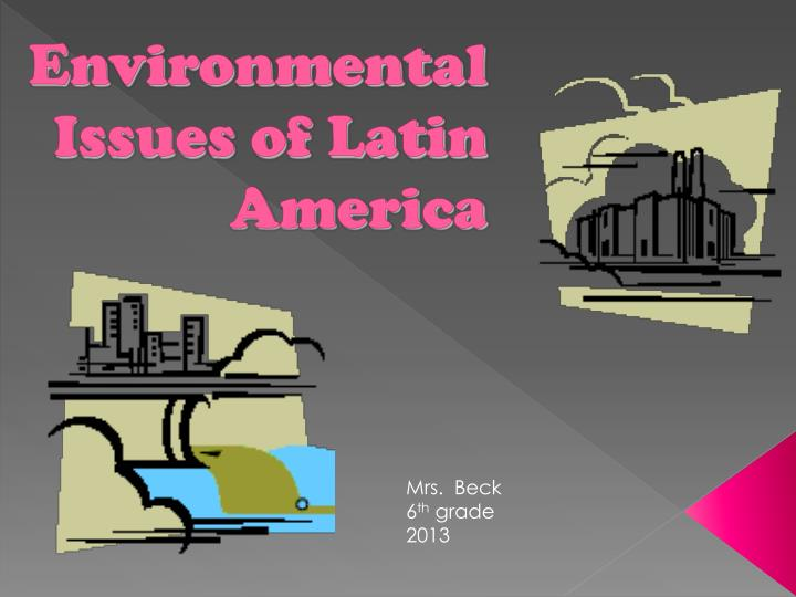 the environmental issues of america