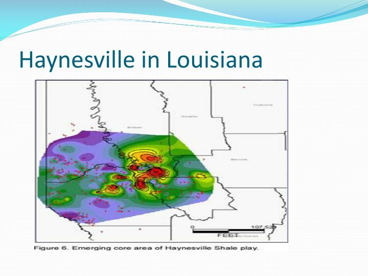 Haynesville in Louisiana