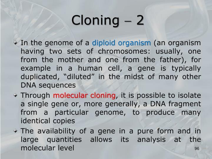 Cloning  2