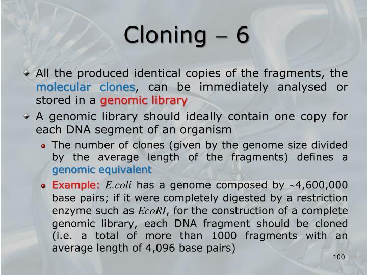 Cloning  6