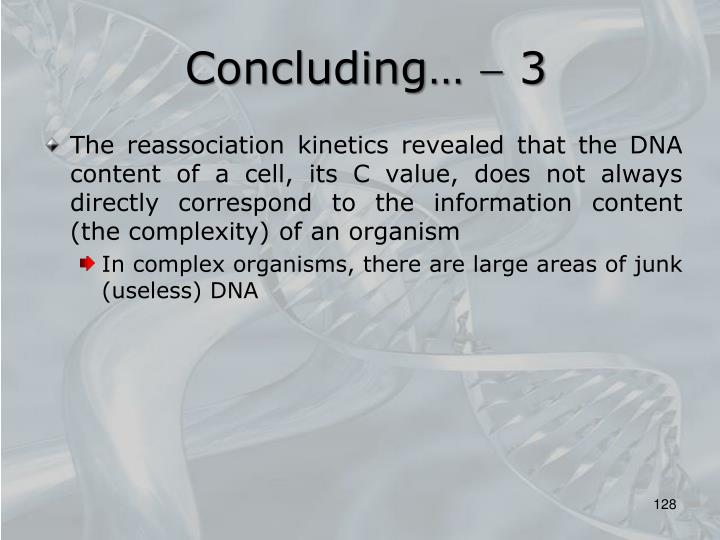 Concluding…  3