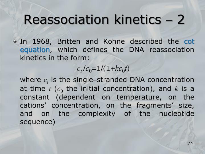 Reassociation k