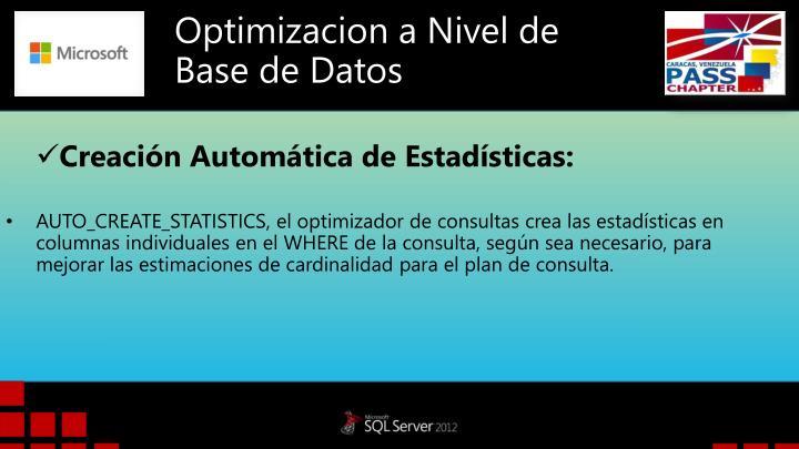 Optimizacion