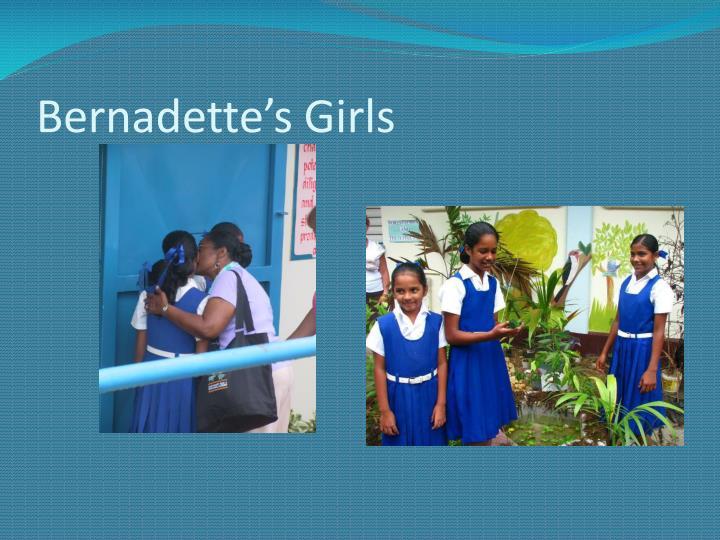 Bernadette's Girls