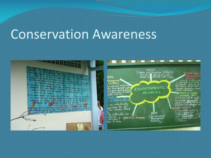 Conservation Awareness