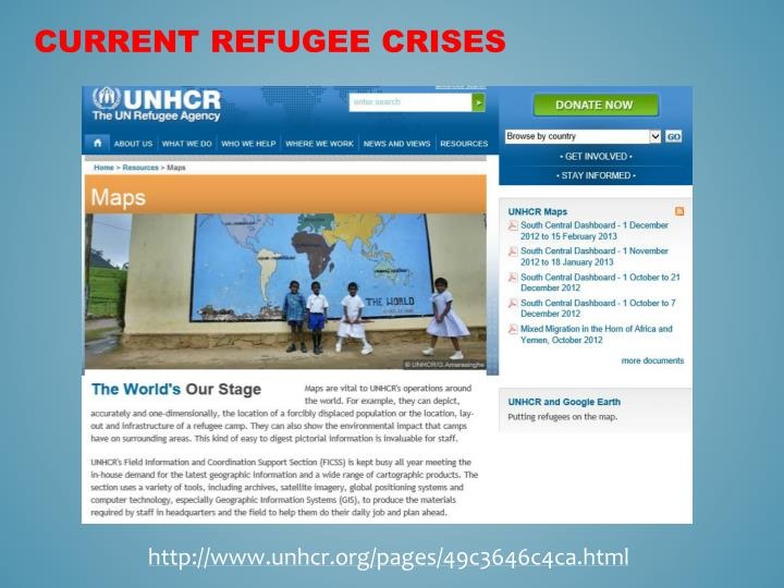 Current Refugee Crises