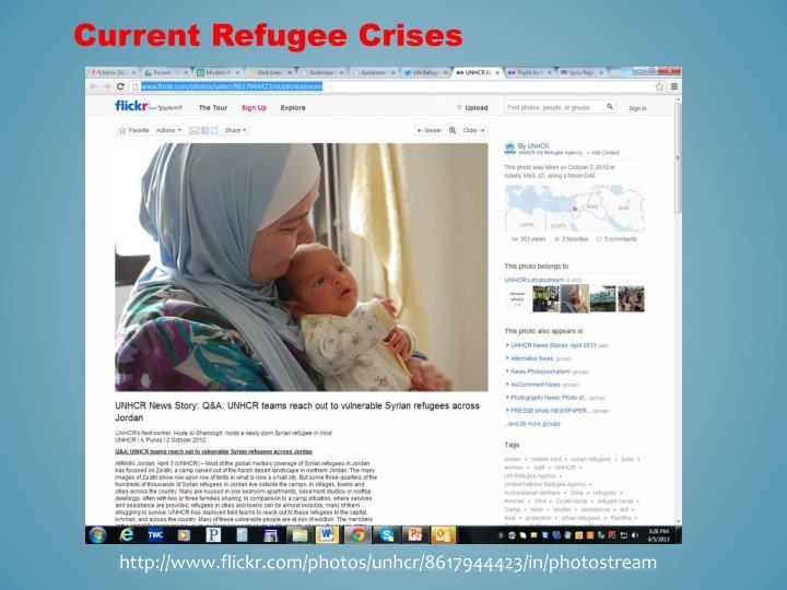 Current Refugee Crises