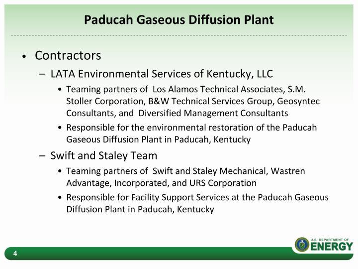 Paducah Gaseous Diffusion Plant
