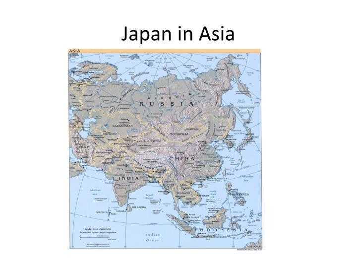 Japan in Asia