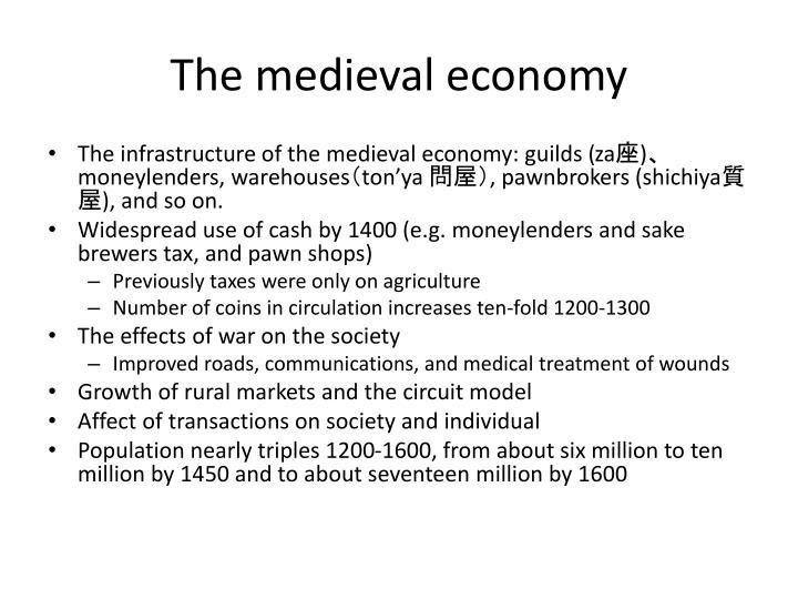 The medieval economy