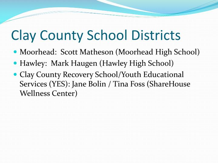 Clay County School Districts