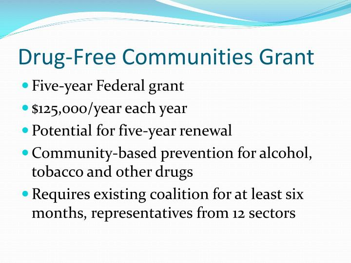 Drug-Free Communities Grant