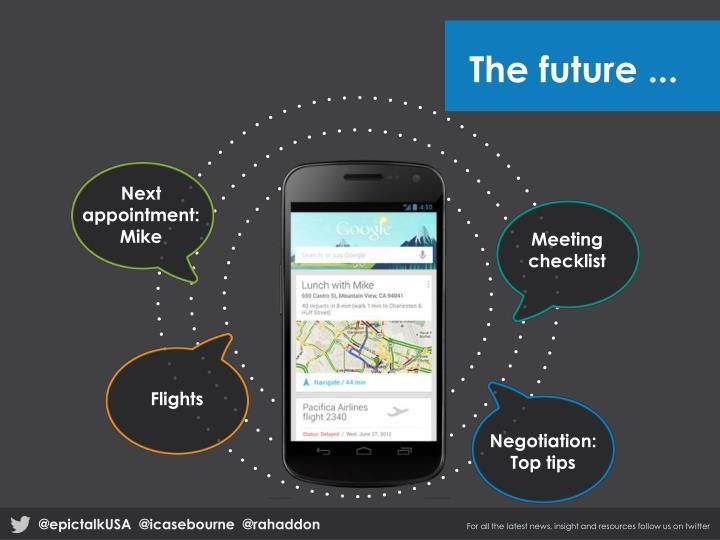 The future ...