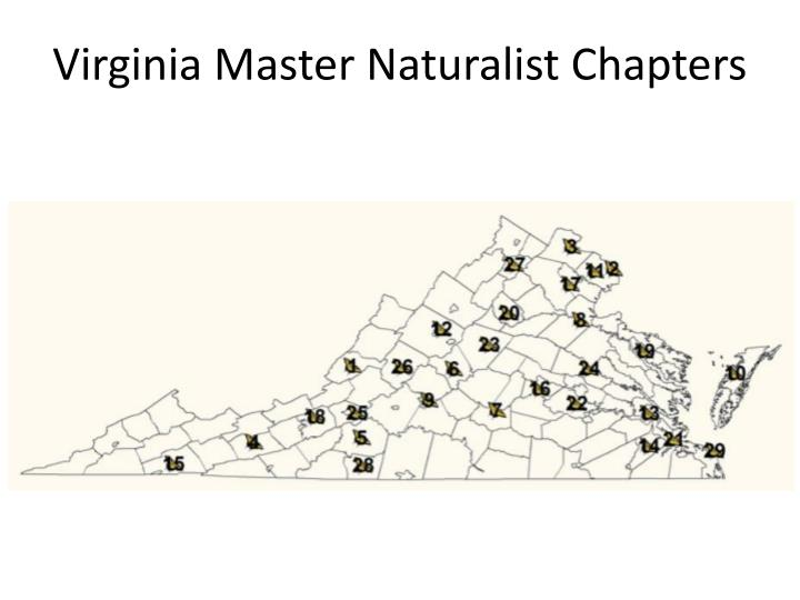 Virginia Master Naturalist Chapters