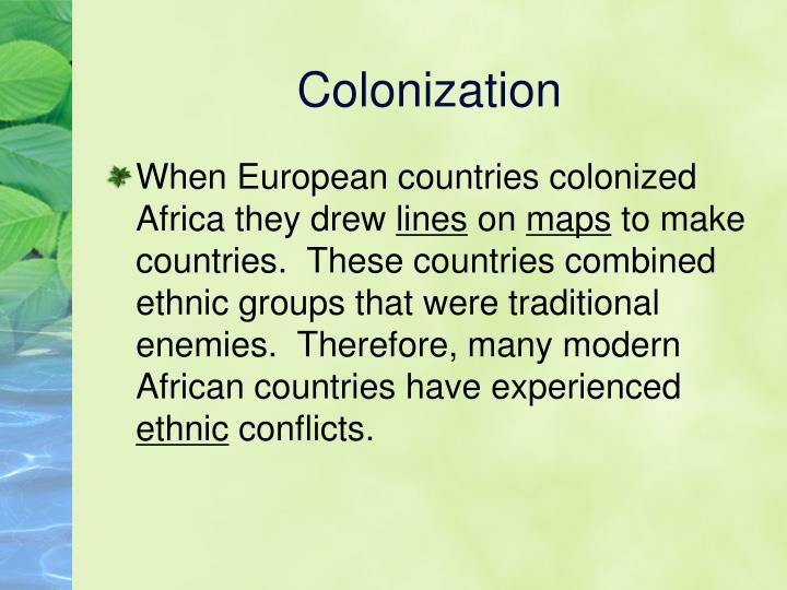 Colonization