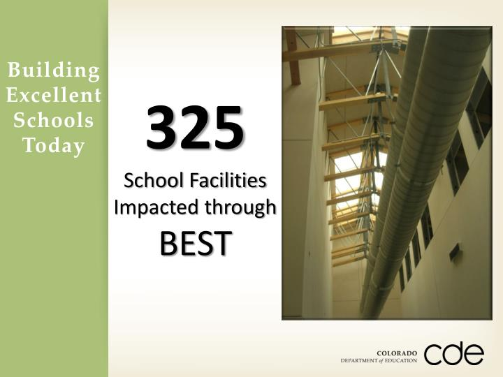 Building Excellent Schools Today