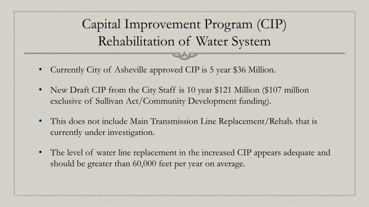 Capital Improvement Program (CIP)