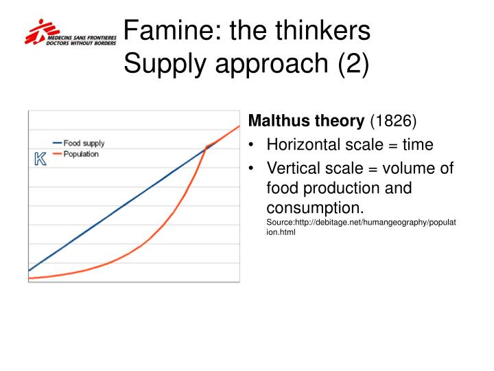 Famine: the thinkers