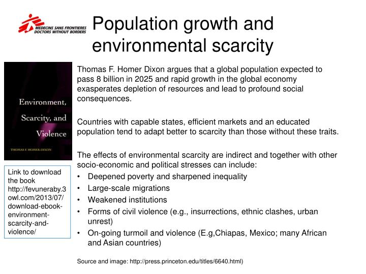 Population growth and