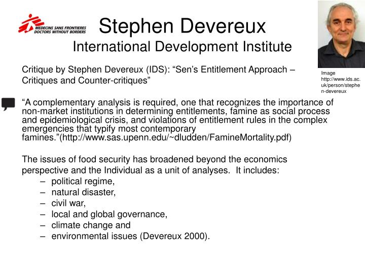 Stephen Devereux