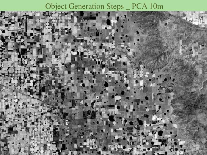 Object Generation Steps _ PCA 10m