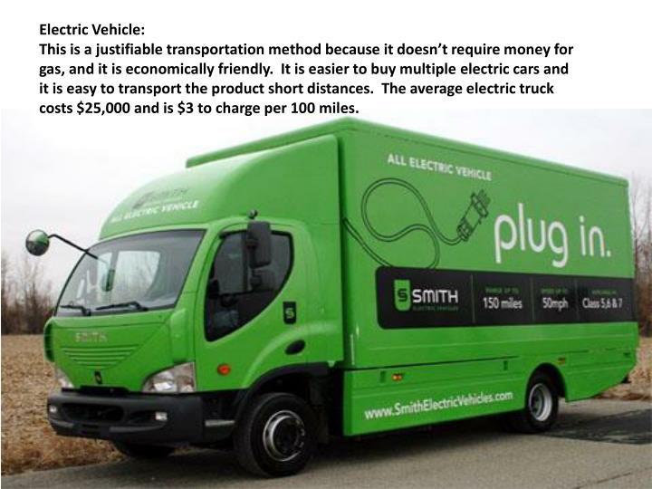 Electric Vehicle: