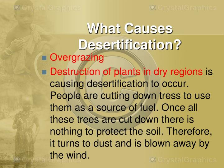What Causes Desertification?