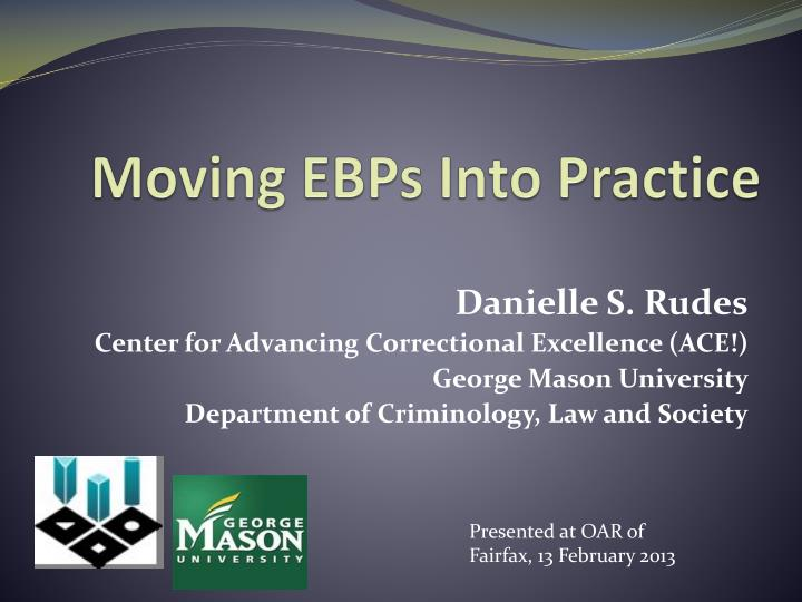 moving ebps into practice