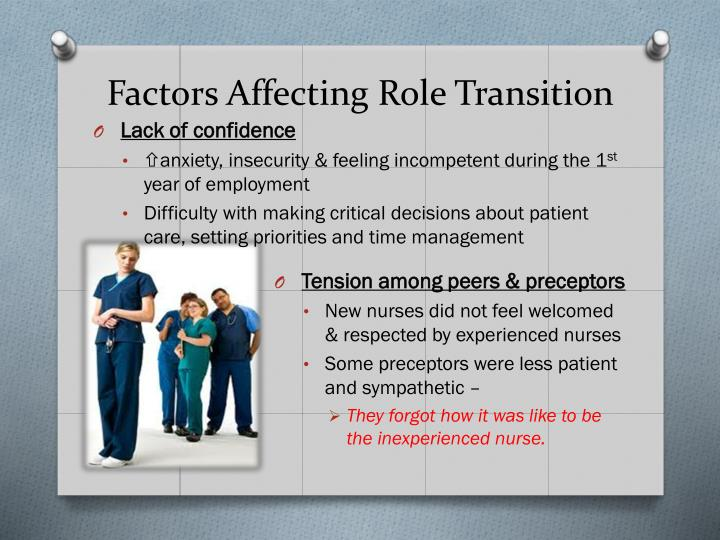 Strategies for making the transition from a student nurse to staff nurse essay