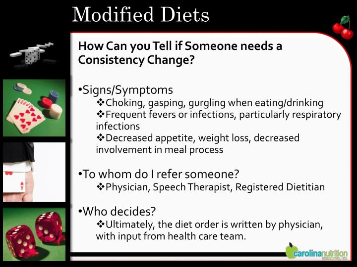 Modified Diets