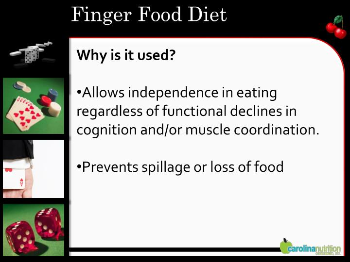 Finger Food Diet