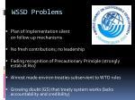 wssd problems