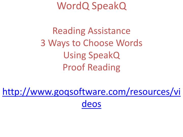 WordQ
