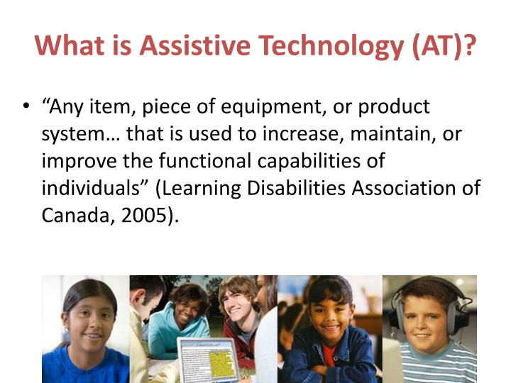 What is Assistive