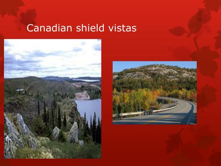 Canadian shield vistas