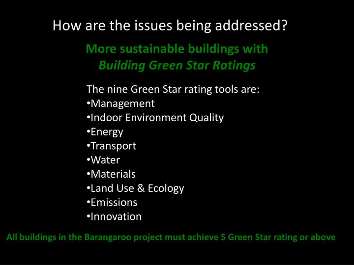 More sustainable buildings with