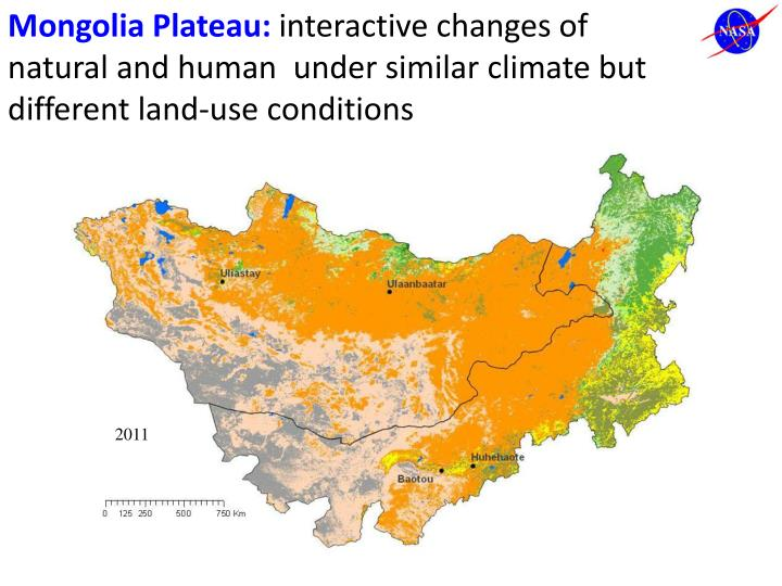 Mongolia Plateau: