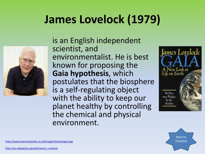 James Lovelock (1979)