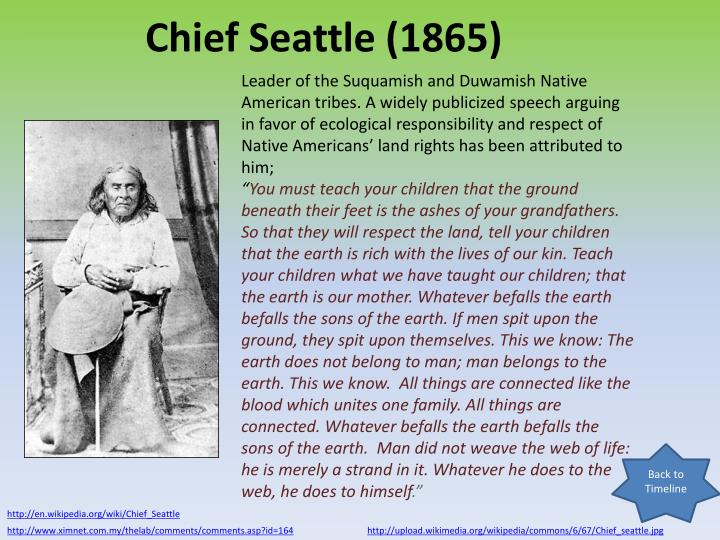 Chief Seattle (1865)